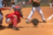 Sporting South Photography Baseball Player Catcher Catching ball action image
