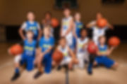 Sporting South Photography Basketball Team Portrait