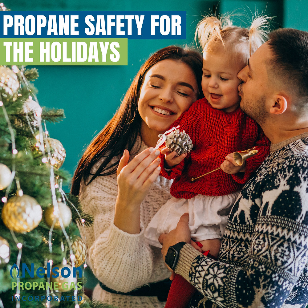 propane safety for the holidays