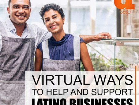 Virtual Ways to Help and Support Latino Businesses