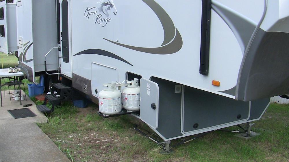 propane rv storage