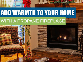 Add Warmth To Your Home With A Propane Fireplace
