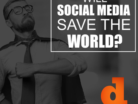 Will Social Media Save the World?