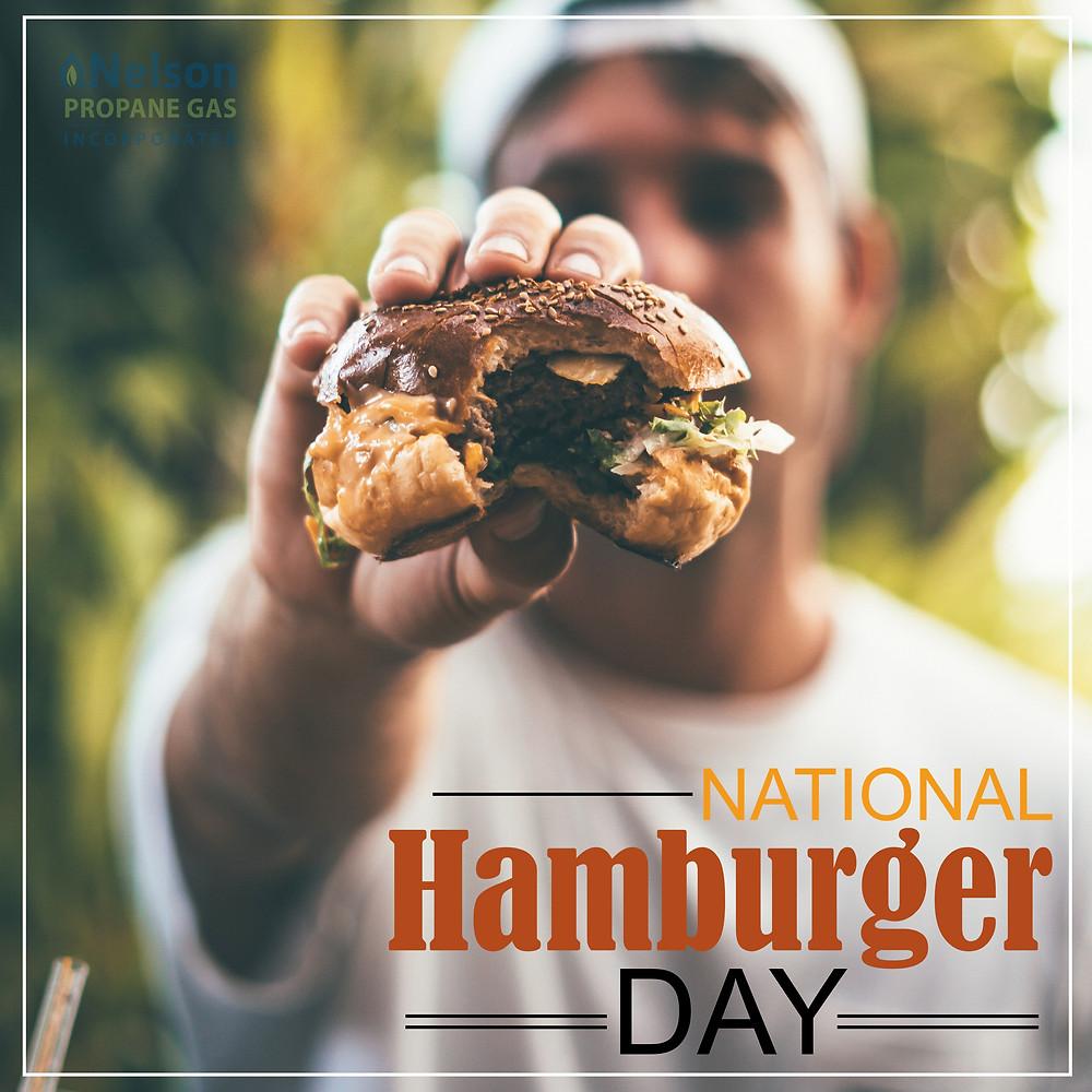 Nelson Propane Celebrates National Burger Day