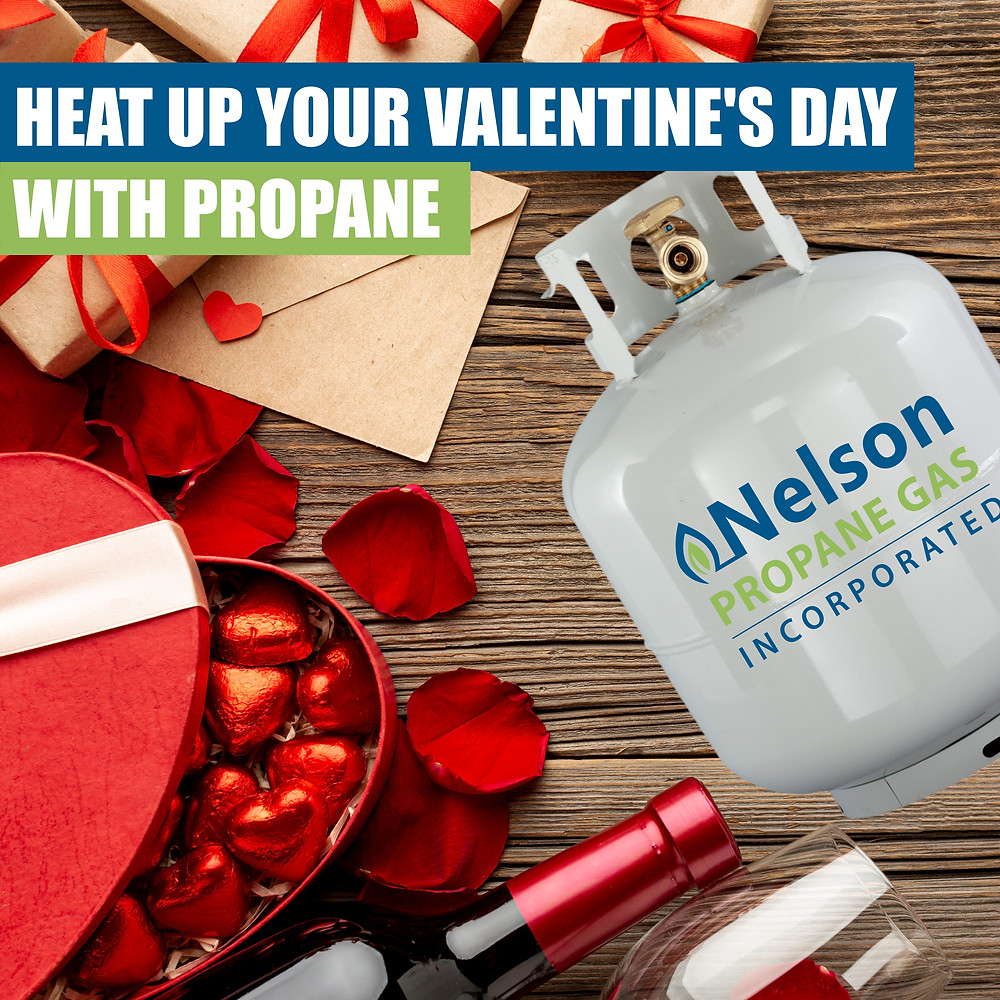 Propane for Valentine's Day