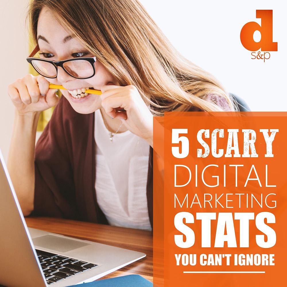 scary digital marketing stats