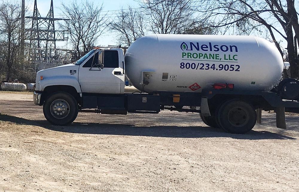 Nelson Propane - Truck