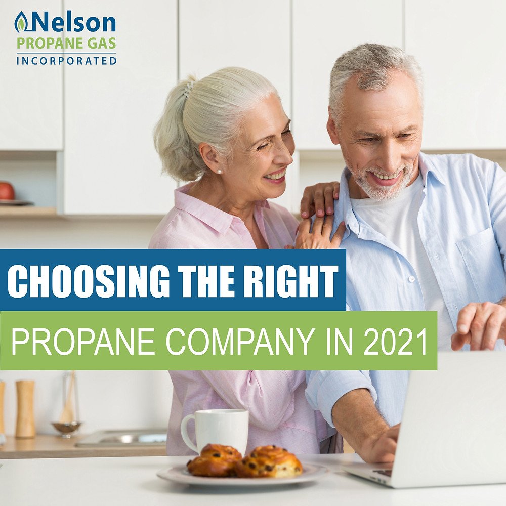 Choosing the right propane company