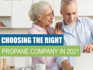Choosing The Right Propane Company in 2021