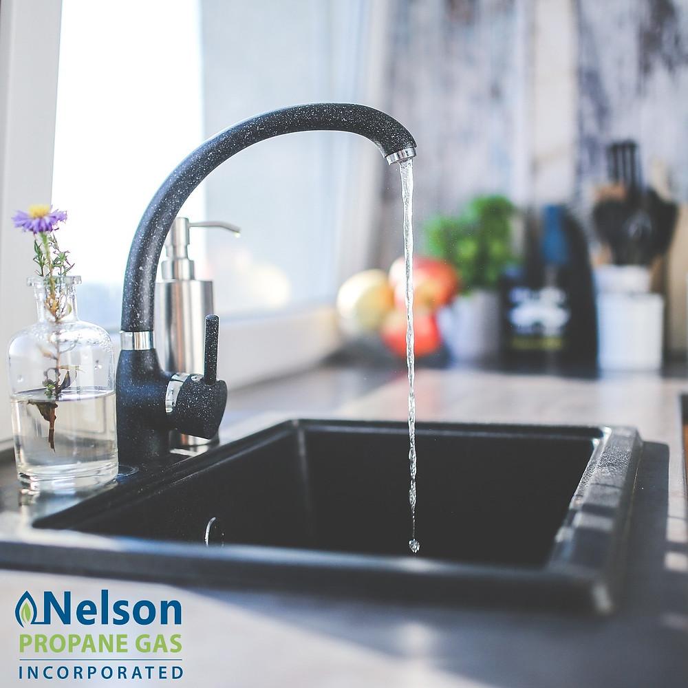 Nelson Propane - Sink