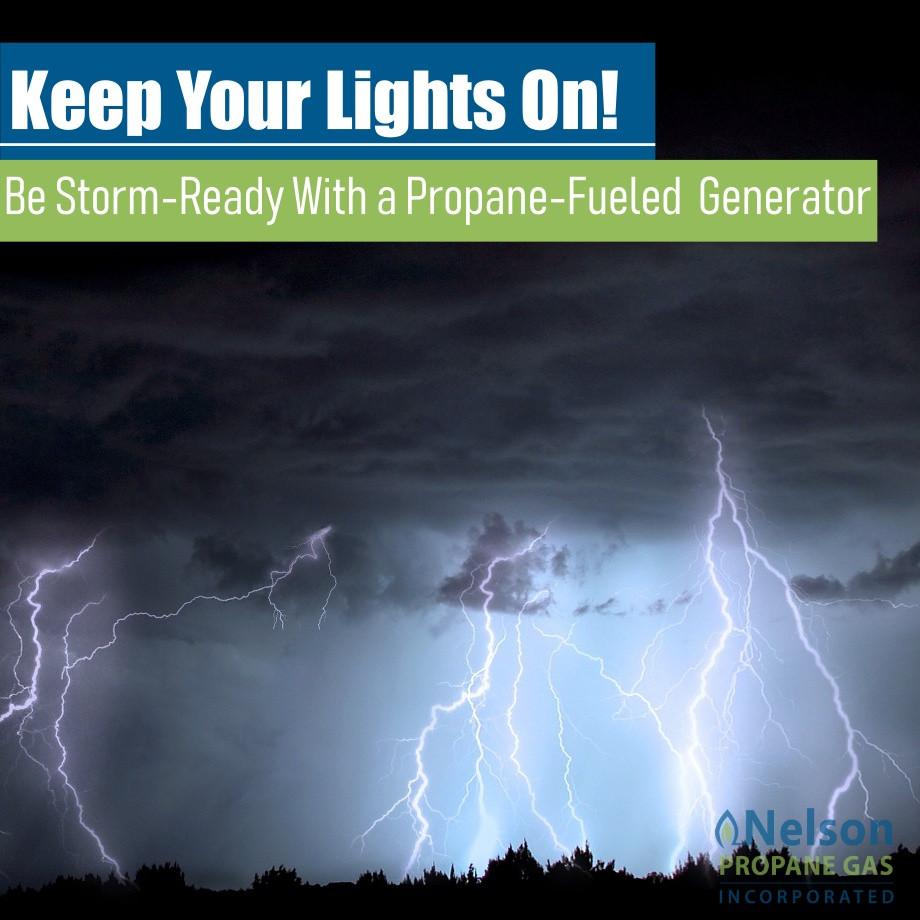 Nelson Propane Gas Texas Storm