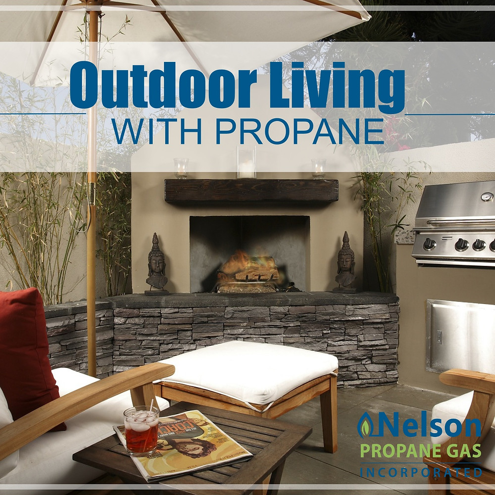 Nelson Propane Outdoor Living Space