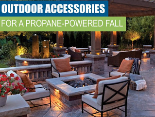 Outdoor Accessories For A Propane Powered Fall