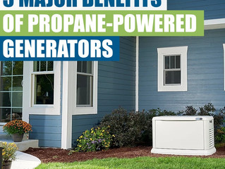 5 Major Benefits Of Propane-Powered Generators