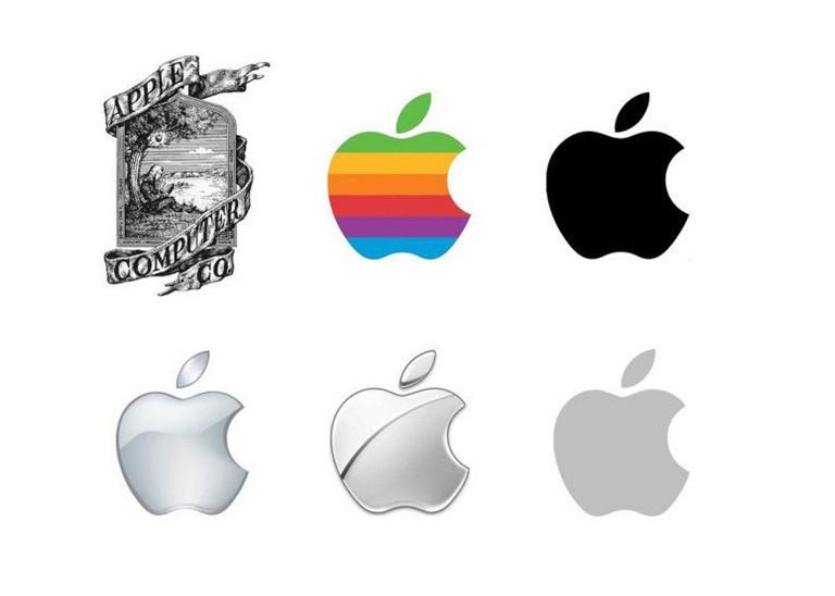 Evolution of Apple logo