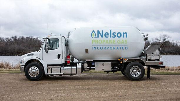 Nelson Propane Gas Truck