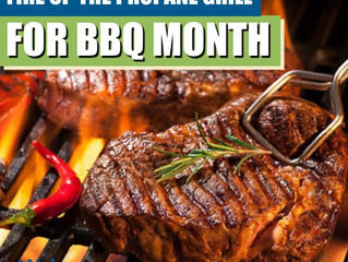 Fire Up The Propane Grill For BBQ Month