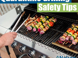 Quarantine Grilling Safety Tips