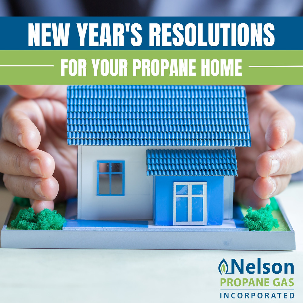 Resolutions for your propane home