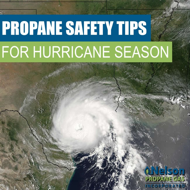 hurricane propane safety tips