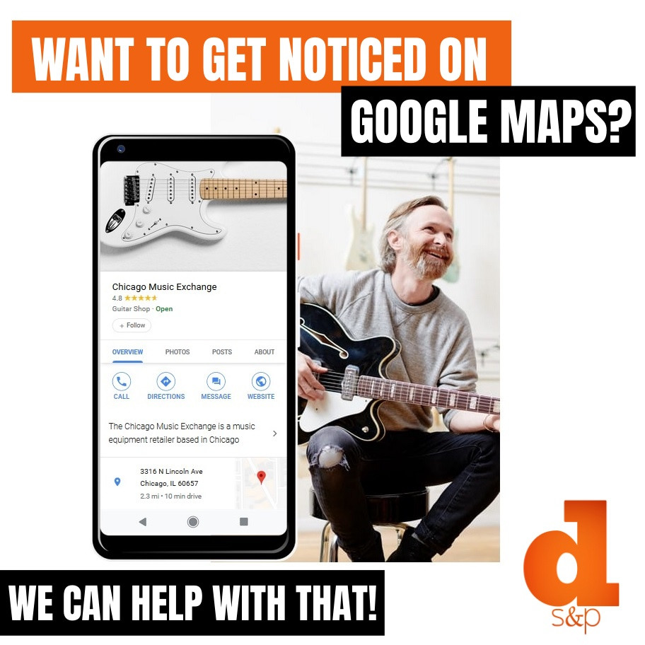 Google Maps ads for small business