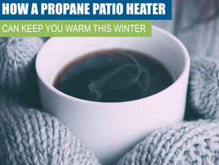 How A Propane Patio Heater Can Keep You Warm This Winter