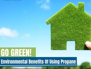 Go Green! Environmental Benefits Of Using Propane