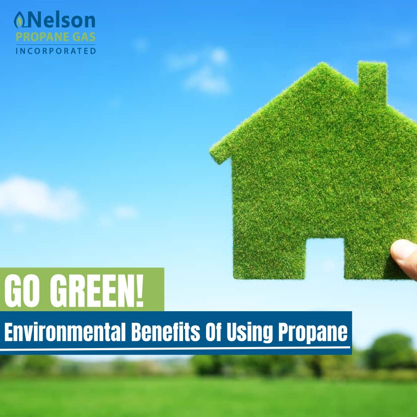 Green home using propane