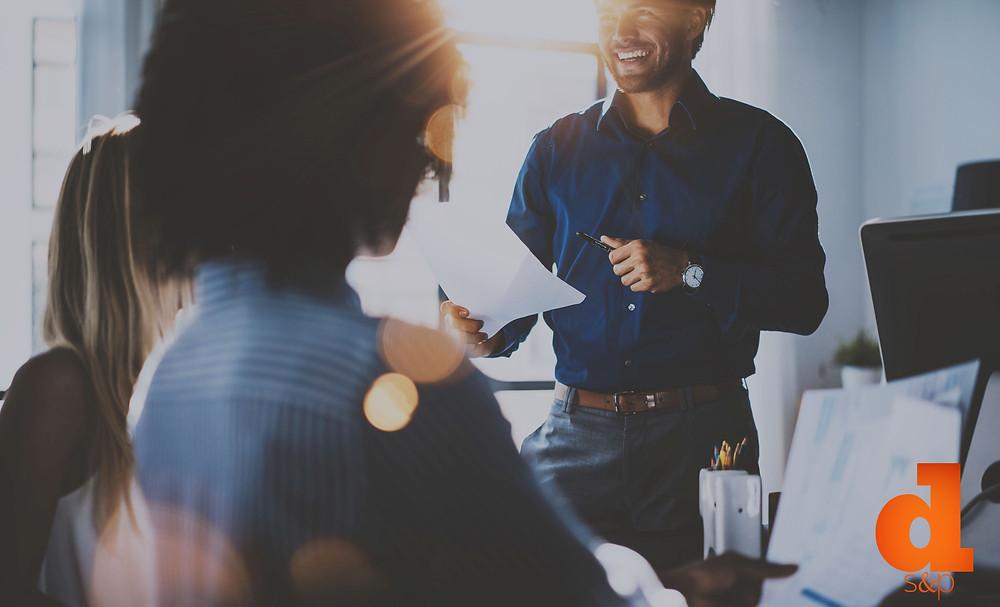 Digital Marketing meeting and strategizing