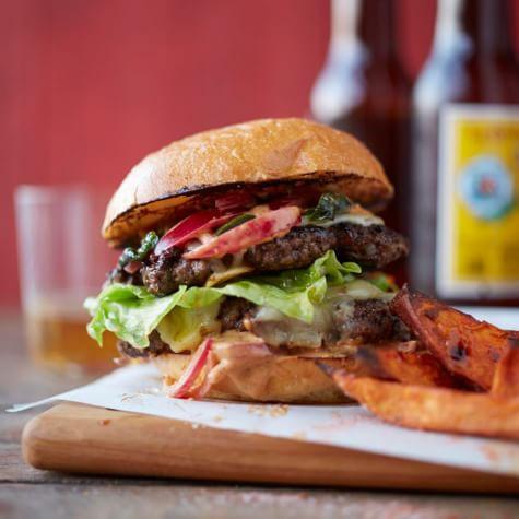 Triple Chile Burger