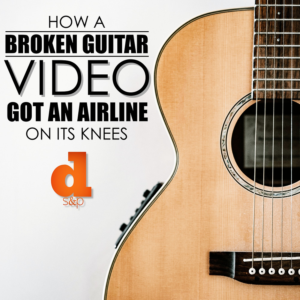 United Airlines Broken Guitar YouTube Video