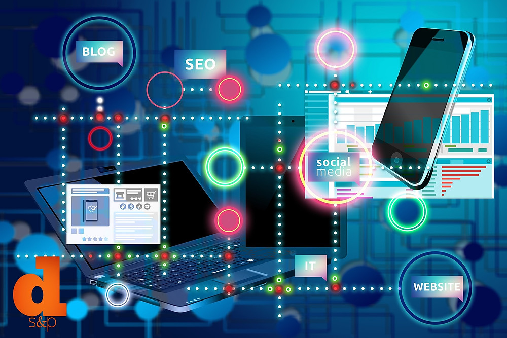 digital marketing layout