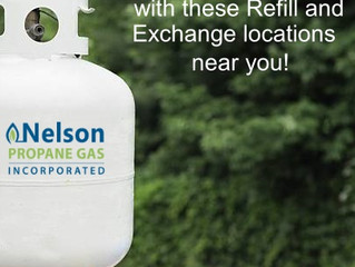 Fill Up On Propane With These Refill and Exchange Locations Near You!