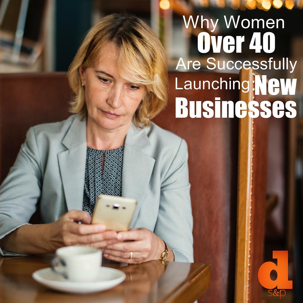 DS&P Women Over 40 Business - Businesswoman