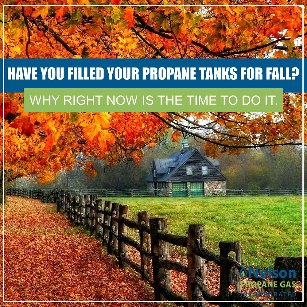 propane fill up for fall