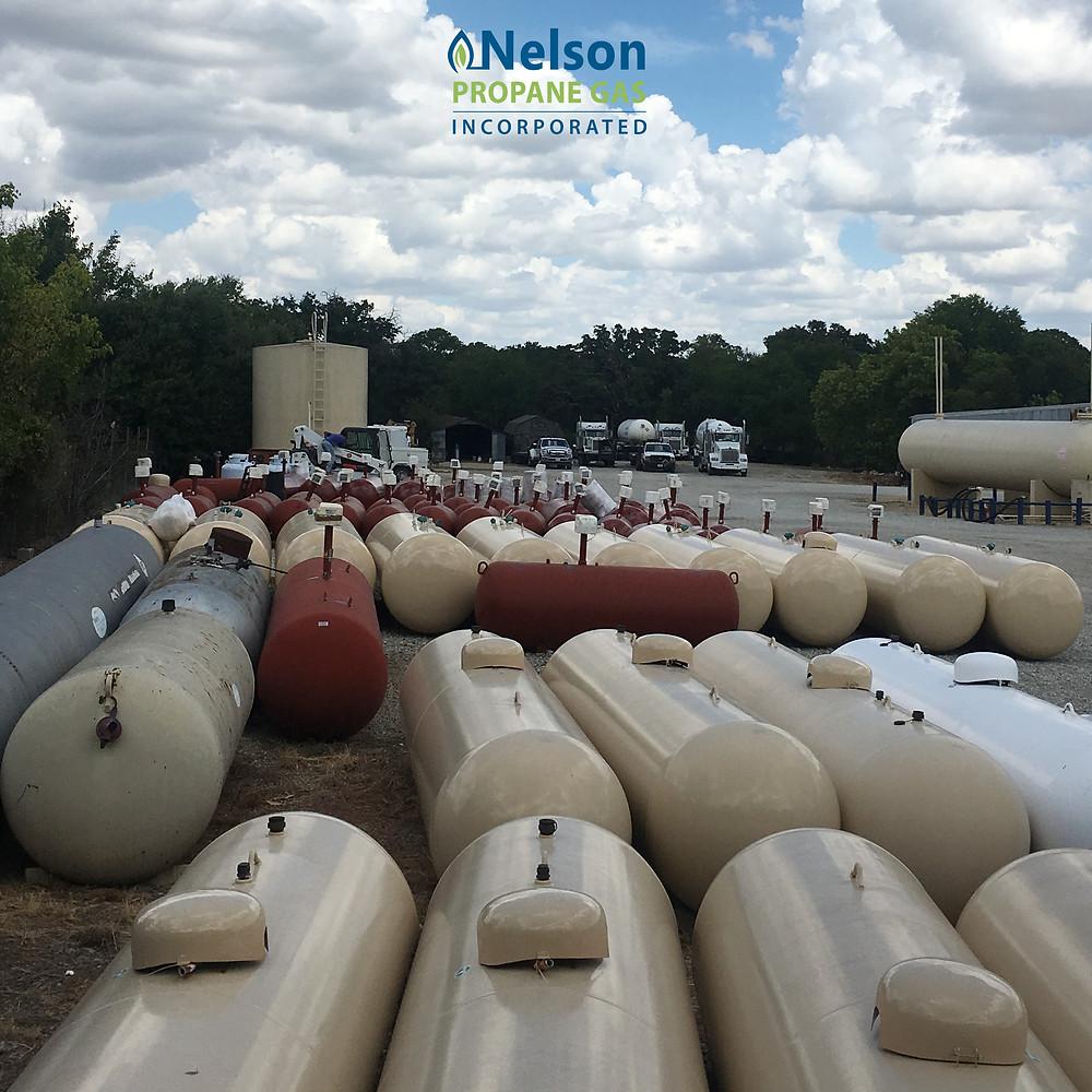 Nelson Propane Gas Tanks