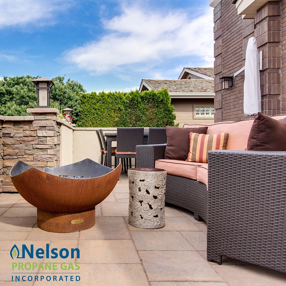 Nelson Propane - Outdoor Fire pit