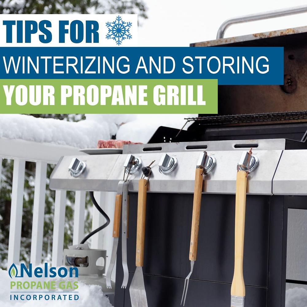 winterizing your propane grill