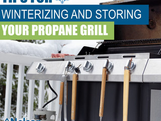 Tips For Winterizing and Storing Your Propane Grill
