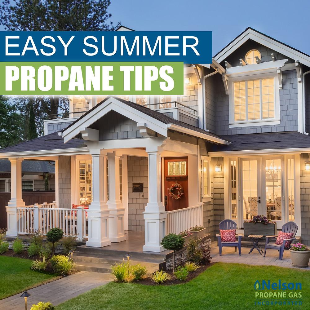 Easy summer propane tips