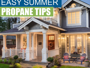 Easy Summer Propane Tips To Maintain Your Tank and Appliances