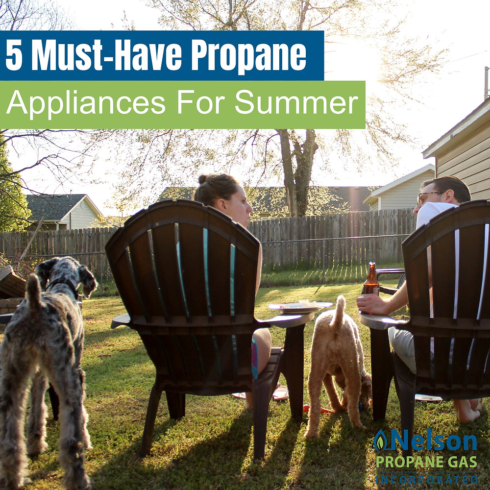 5 must have propane appliances for summer