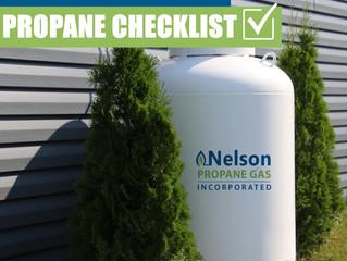 Your Summertime Propane Checklist