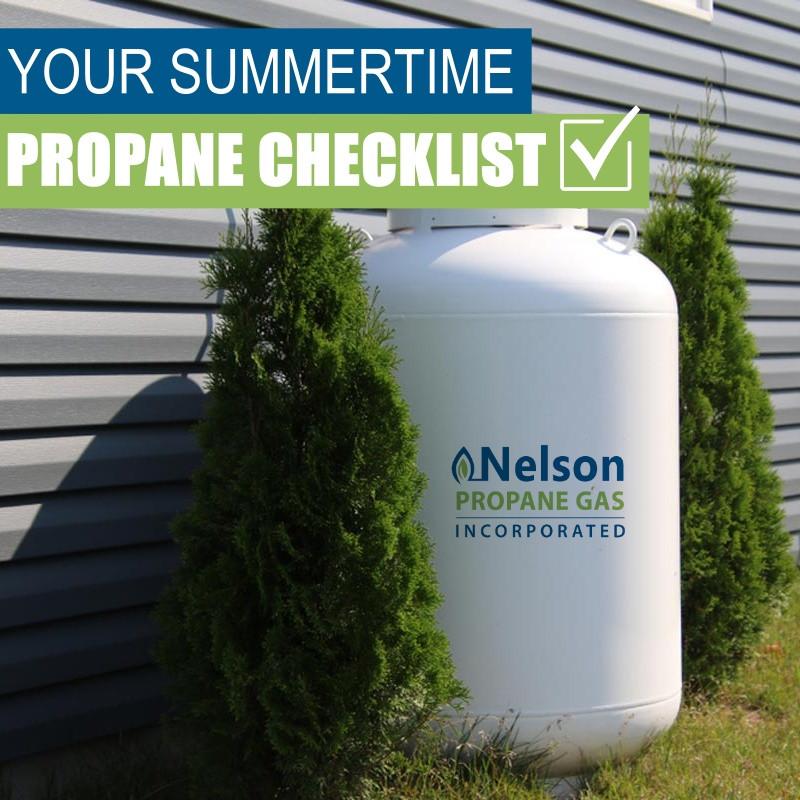 Summer propane checklist