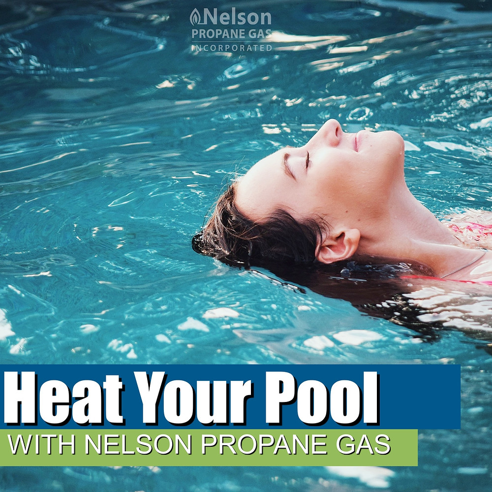 Nelson Propane - Swimmer Enjoying Pool