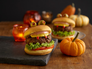 Halloween Monster Burger Recipes For Hungry Beasts