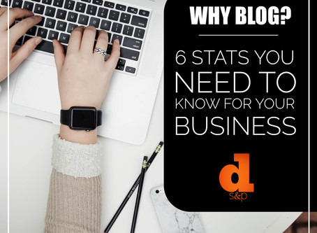 Why Blog? 6 Stats You Need To Know For Your Business