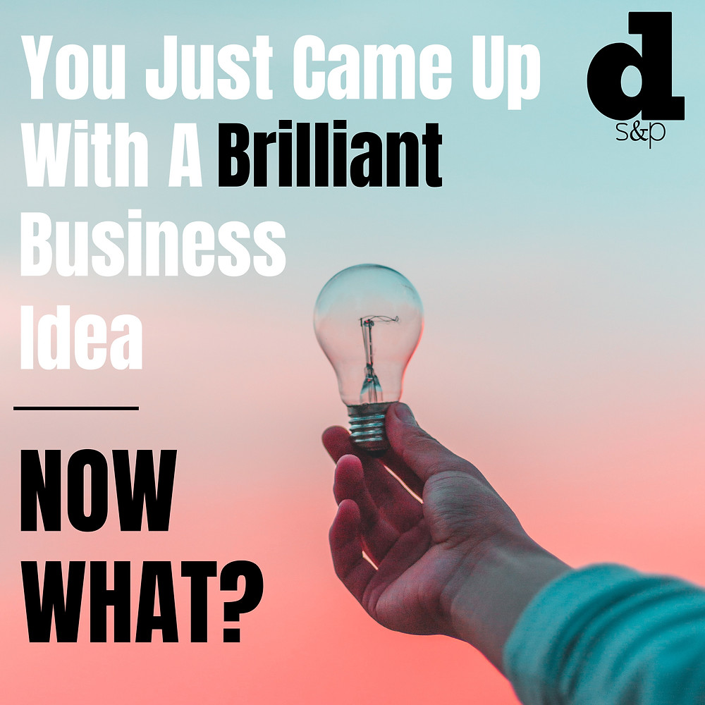 Business idea light bulb
