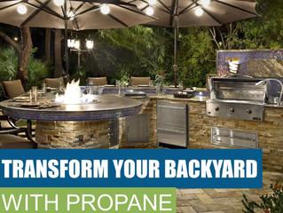 Transform Your Backyard With Propane