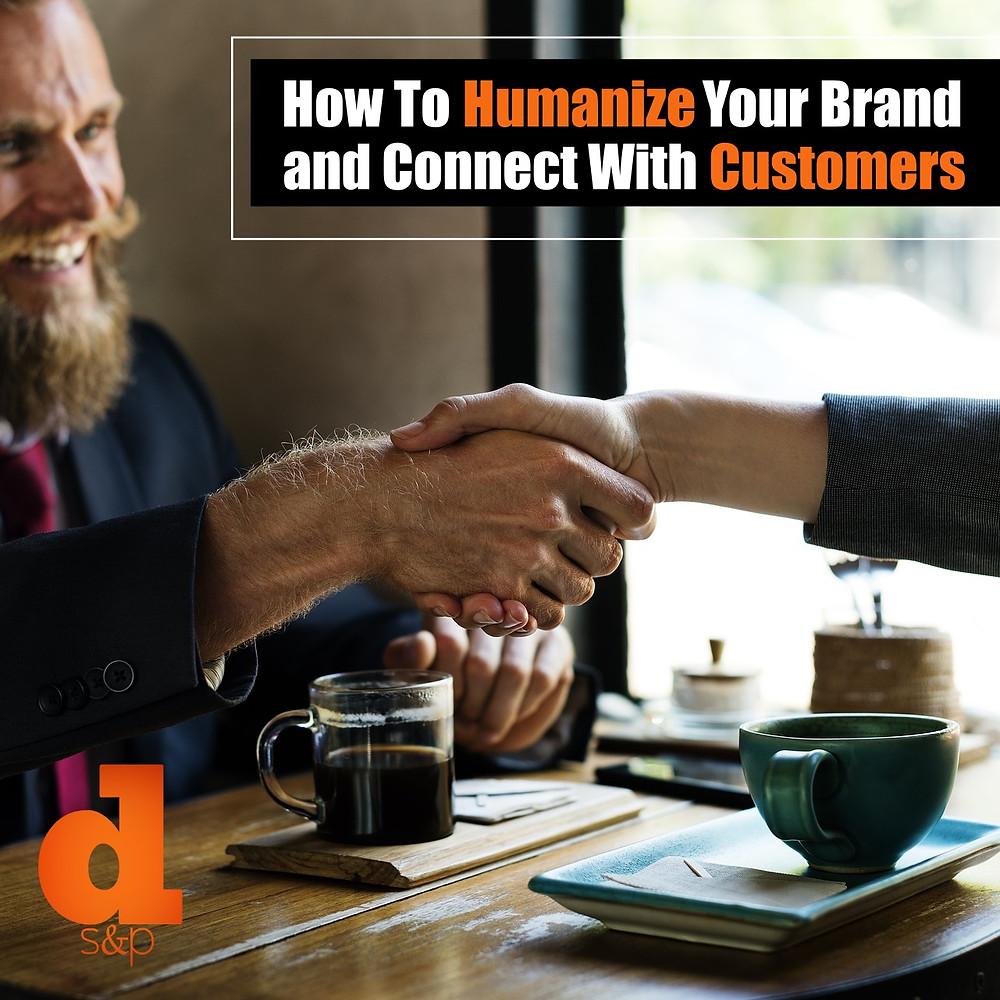 DS&P Humanize Your Brand Handshake